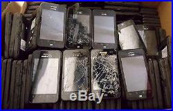 100 Lot ZTE Score X500 X500M CDMA Locked For Parts Repair Used Wholesale As Is