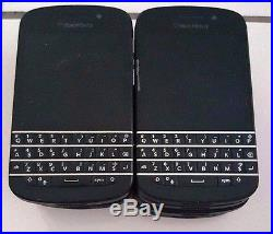 10 Lot Blackberry Q10 GSM Locked Claro For Parts Used Wholesales As Is Black