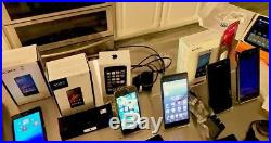 15 Smartphones, 1 Tablet, 1 Fitness Band, 1 LG Bluetooth Headset