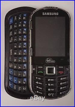 16 Lot Samsung SPH-M575 Virgin Mobile Cellular Phone Slider QWERTY Keyboard Used