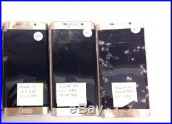 21 Lot Samsung Galaxy S6 EDGE+ G928G For Parts Used Power Up Bad Lcd Wholesale