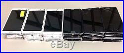 25 Lot Samsung Galaxy Note 4 N910w8 GSM For Parts Repair Used Wholesale As Is