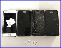 27 Lot Samsung Galaxy S II i9100 GSM For Parts Repair Used Wholesale As Is