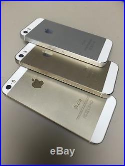3 iPhone 5s 16gb Verizon Cracked Clean Esn (Factory Unlock)