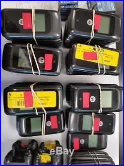 42 Lot Motorola MotoGo W419G Flip Locked Tracfone Good LCD Cellular Phone Black
