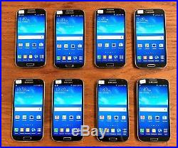 8 Samsung Galaxy S4 Smart Phones Verizon
