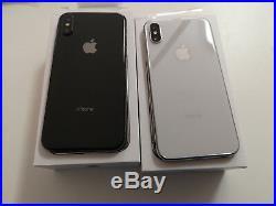 Apple Iphone X 256 GB A+libre+factura+8 Accesorios De Regalo 1 Año De Garantía