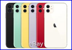 Apple iPhone 11- 128GB All Colors GSM & CDMA Unlocked Apple Warranty
