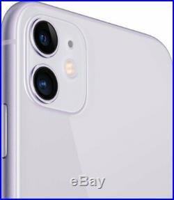Apple iPhone 11 128GB Purple Verizon T-Mobile AT&T Fully Unlocked Smartphone