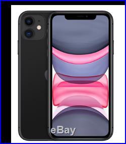 Apple iPhone 11 256GB Black (Unlocked) A2221 (CDMA + GSM)