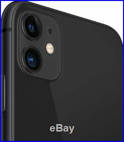 Apple iPhone 11 64GB Black Verizon T-Mobile AT&T Metro Fully Unlocked Smartphone