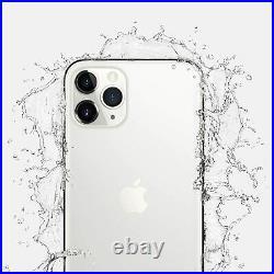 Apple iPhone 11 Pro Max 256GB Silver Verizon T-Mobile AT&T Unlocked Smartphone