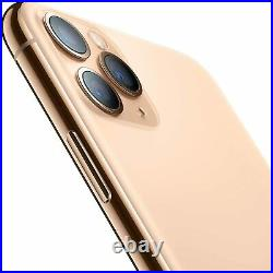 Apple iPhone 11 Pro Max 64GB Gold Verizon T-Mobile AT&T Unlocked Smartphone