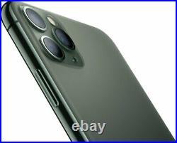 Apple iPhone 11 Pro Midnight Green 64GB Verizon TMobile AT&T Unlocked Smartphone