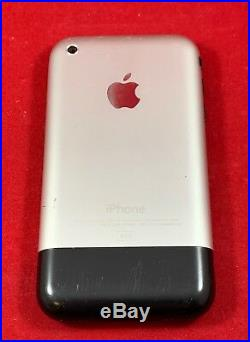 Apple iPhone 2G Original 1st Generation 8GB Black GSM Unlocked A1203 MA712LL/A