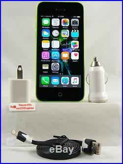 Apple iPhone 5C-16GB Green (Verizon 4G LTE Unlocked Network + Accessories)