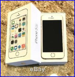Apple iPhone 5s 32GB Unlocked -Gold -Excellent- A1533 With Box ME328LL/A