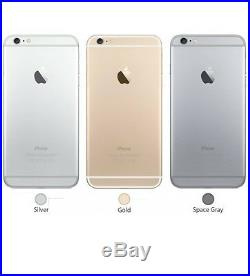 Apple iPhone 6 16GB 64GB 128GB GSMFactory UnlockedSmartphone Gold Gray Silver