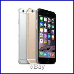 Apple iPhone 6 64GB Factory Unlocked 4G LTE WiFi 8MP Camera Smartphone