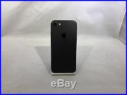 Apple iPhone 7 128GB Matte Black AT&T Unlocked Good Condition