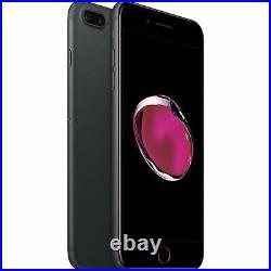 Apple iPhone 7 Plus 128GB, Black, CDMA + GSM Fully Unlocked 4G LTE Smartphone