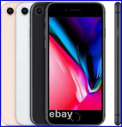 Apple iPhone 8 64GB 128GB 256GB All Colors Fully Unlocked