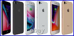 Apple iPhone 8 64GB 4G LTE (T-mobile/ Ultra/ Metro/ Mint) Smartphone