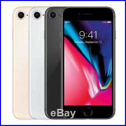 Apple iPhone 8 64GB Factory Unlocked 4G LTE WiFi iOS 12MP Camera Smartphone