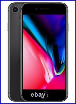 Apple iPhone 8 64GB Fully Unlocked Verizon Sprint AT&T T-Mobile