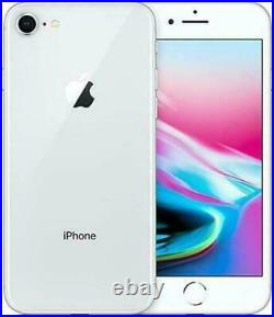 Apple iPhone 8 64GB GSM Factory Unlocked Smartphone GRAY & SILVER