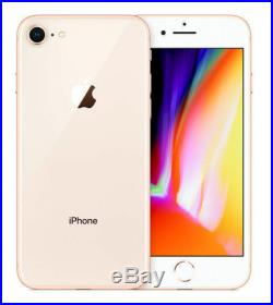 Apple iPhone 8 64GB Gold A1905 GSM UNLOCKED MRF VERY GOOD