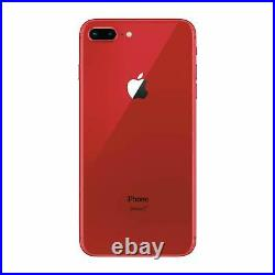 Apple iPhone 8 Plus 64GB Red Factory GSM Unlocked T-Mobile AT&T Smartphone