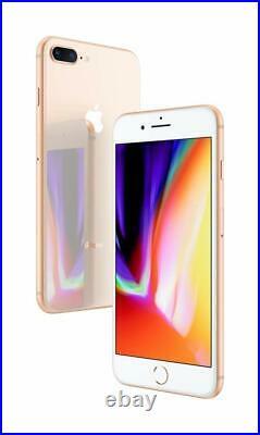 Apple iPhone 8 Plus 64GB Verizon AT&T T-Mobile GSM Unlocked Gold Smartphone