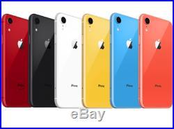 Apple iPhone XR 64GB All Colors! GSM & CDMA Unlocked! Brand New