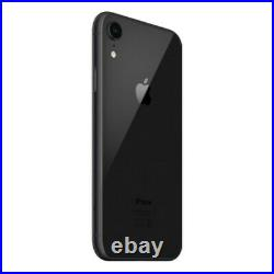 Apple iPhone XR 64GB Black (Fully Unlocked) A1984 (CDMA + GSM) Very Good