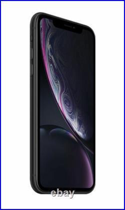 Apple iPhone XR 64GB -Black (Unlocked) A1984 (CDMA + GSM)SRF VERY GOOD
