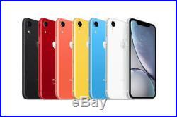Apple iPhone XR 64GB Factory Unlocked Smartphone 4G LTE iOS Smartphone