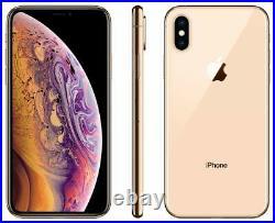 Apple iPhone XS 64GB Fully Unlocked (GSM+CDMA) AT&T T-Mobile Verizon Gold