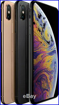Apple iPhone XS Max 64/256/512GB AT&T Verizon T-Mobile Fully Unlocked Smartphone