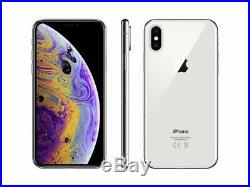 Apple iPhone XS Max Silver 256GB Verizon T-Mobile AT&T Unlocked A1921 Smartphone
