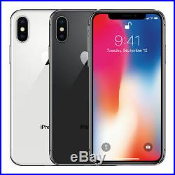 Apple iPhone X 256GB Factory Unlocked Smartphone