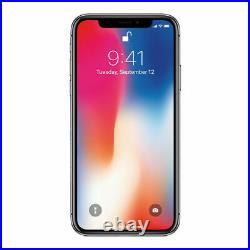 Apple iPhone X 256GB Fully Unlocked (GSM+CDMA) AT&T T-Mobile Verizon Space Gray