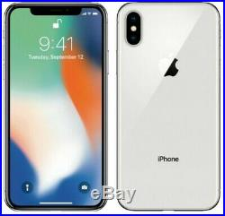 Apple iPhone X 256GB Silver Unlocked Great Condition