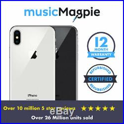 Apple iPhone X 64GB 256GB All Colours Unlocked SIM Free Smartphone