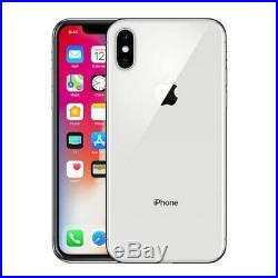 Apple iPhone X 64GB Silver A1865 GSM & CDMA UNLOCKED MRF VERY GOOD