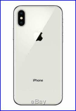 Apple iPhone X 64GB Silver Fully Unlocked CDMA + GSM 4G LTE IOS Smartphone