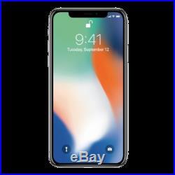 Apple iPhone X 64GB Silver Unlocked Good