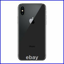 Apple iPhone X Factory Unlocked 4G LTE Smartphone Used