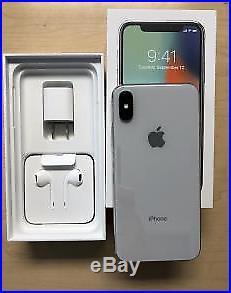 Apple iphone x 64GB Silver-New-Original, Unlocked