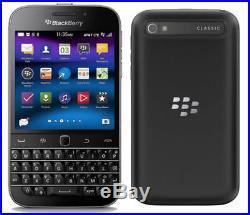 BlackBerry Q20 Classic SQC100-1 4G LTE 3G 8.0MP 16GB Smartphone Unlocked Black